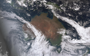 Rare 'atmospheric rivers' occur in Australian skies