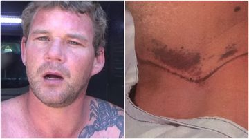 David John Pearce has been charged with attempted murder over the shoelace choking attack of a man he didn't know.