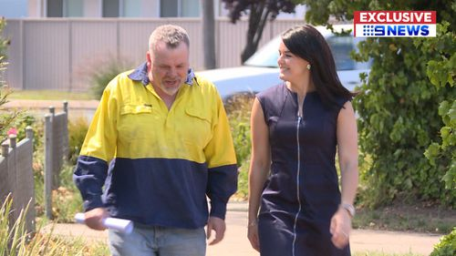 Mr Foley spoke exclusively to 9NEWS.
