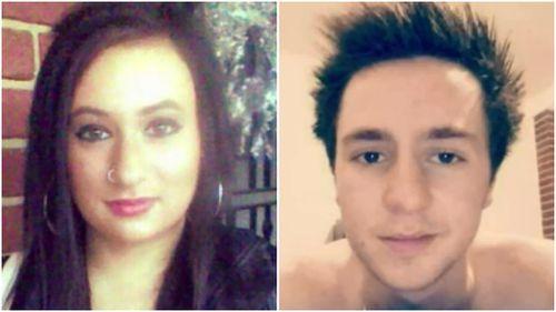 Ivana Clonaridis and Harley Churchill were killed in the crash. (9NEWS)