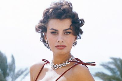 Sophia Loren, Italian-born and irresistable.