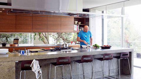 Matt Moran's kitchen