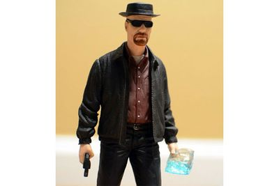 Heisenberg figurine from <i>Breaking Bad</i>.<br/><br/>(Image: Mezco Toyz)