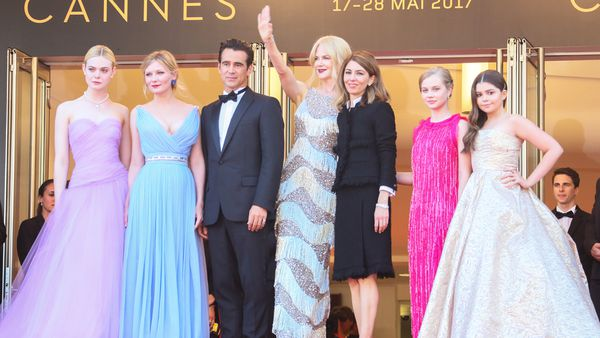 Glam fam: Actress Nicole Kidman and Director Sofia Coppola had to return home to care for their young children. Image: Getty