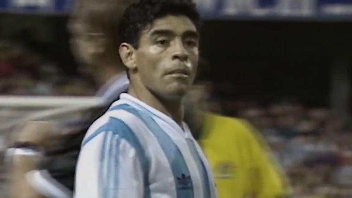 How Diego Maradona changed Robbie Slater's career with just a few words