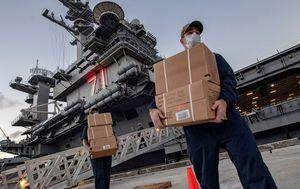 Coronavirus resurgence: Sailors on USS Theodore Roosevelt get COVID-19 twice
