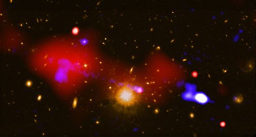 Astronomers Have Found a Galactic Merger With Three Supermassive Black Holes