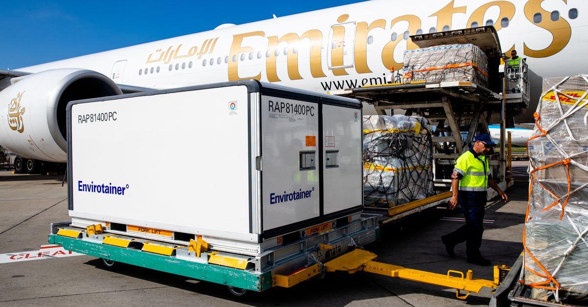 First shipment of AstraZeneca vaccine lands in Australia – 9News