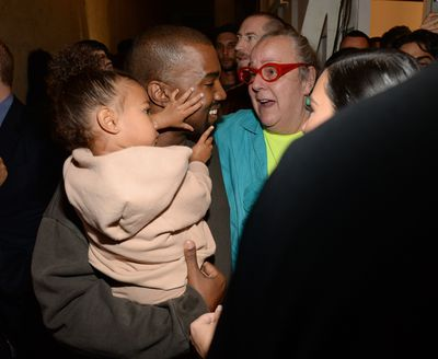 North West and Kanye West.