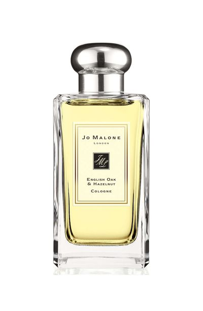 "<p><a href=""https://www.jomalone.com.au/product/20031/51345/english-oak/english-oak-hazelnut-cologne"" target=""_blank"">Jo Malone London English Oak & Hazelnut Cologne (100ml), $198.</a></p> <p>Fancy the scent of an English forest? This is it. It starts with fresh, spring notes of green hazelnuts which lends to a sweet, balsamic touch of cedarwood. Finally, roasted oak.</p>"
