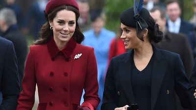Kate and Meghan's friendship: Christmas Day, December 2018