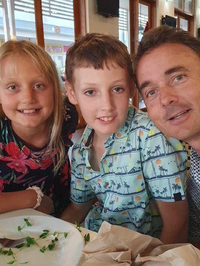 Kerri and Tom dinner