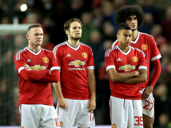 Manchester United. (AAP)