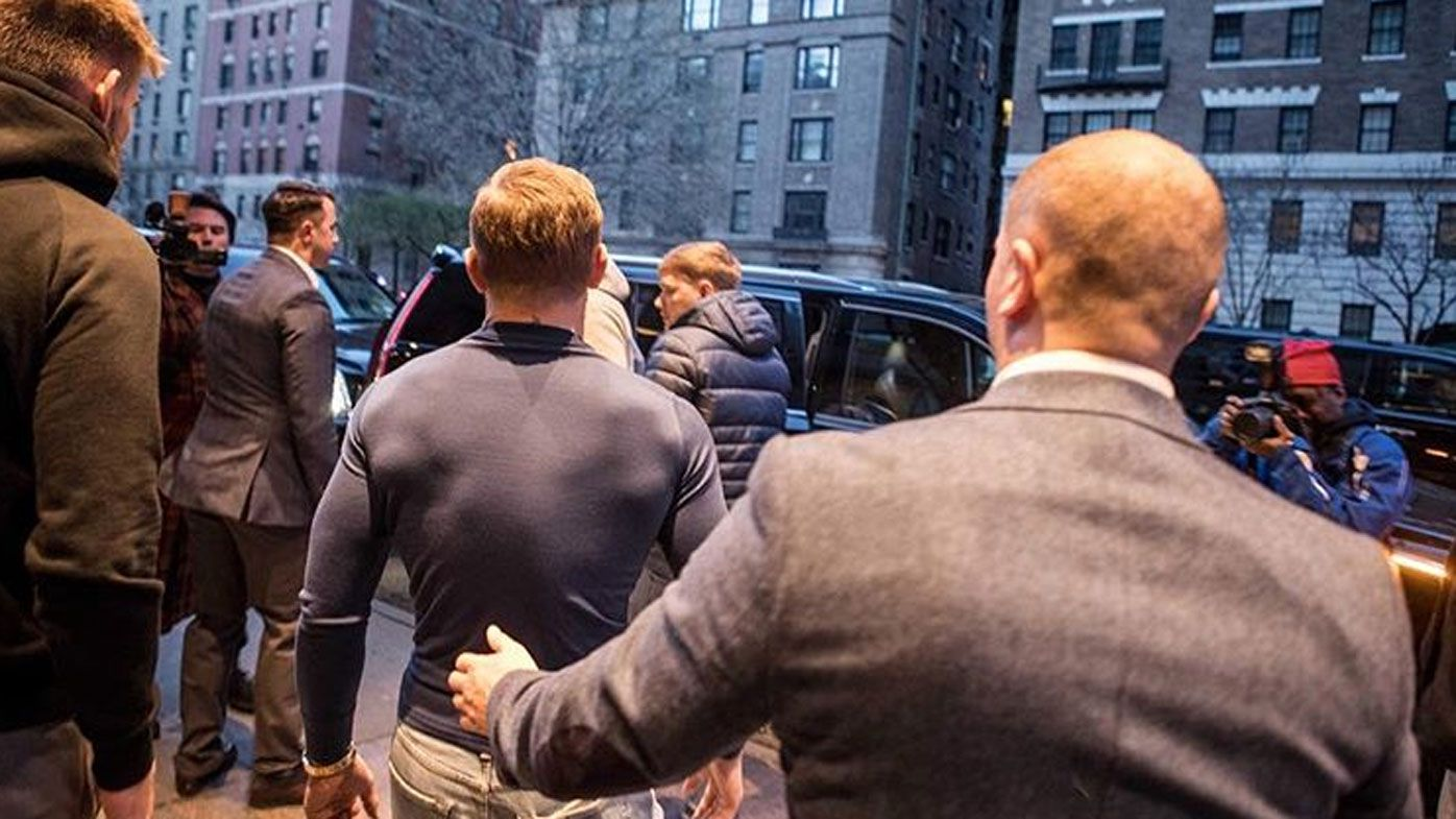 Conor McGregor surfaces after being released on $50,000 bail over assault charge