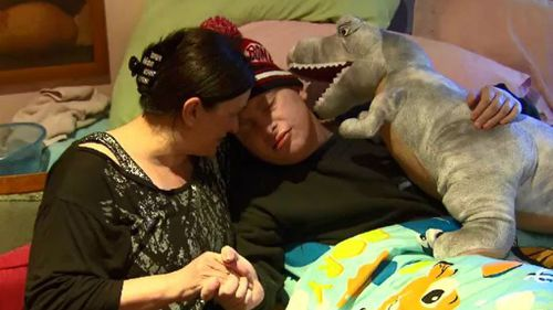 Maria Liistro and her son, Sammy-Joe. (9NEWS)