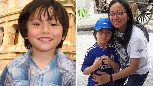 Julian Cadman was killed in the van attack, while his mother Jom suffered serious injuries.