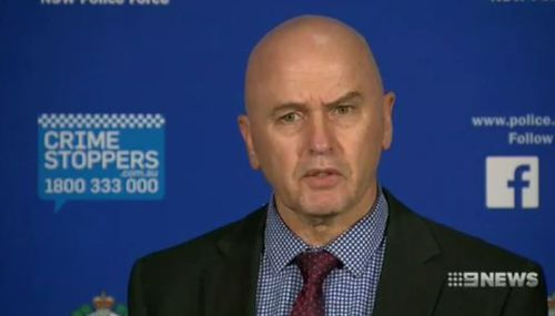 Detective Superintendent John Kerlate said the victims had mixed emotions when they were called about the arrest. Picture: 9NEWS