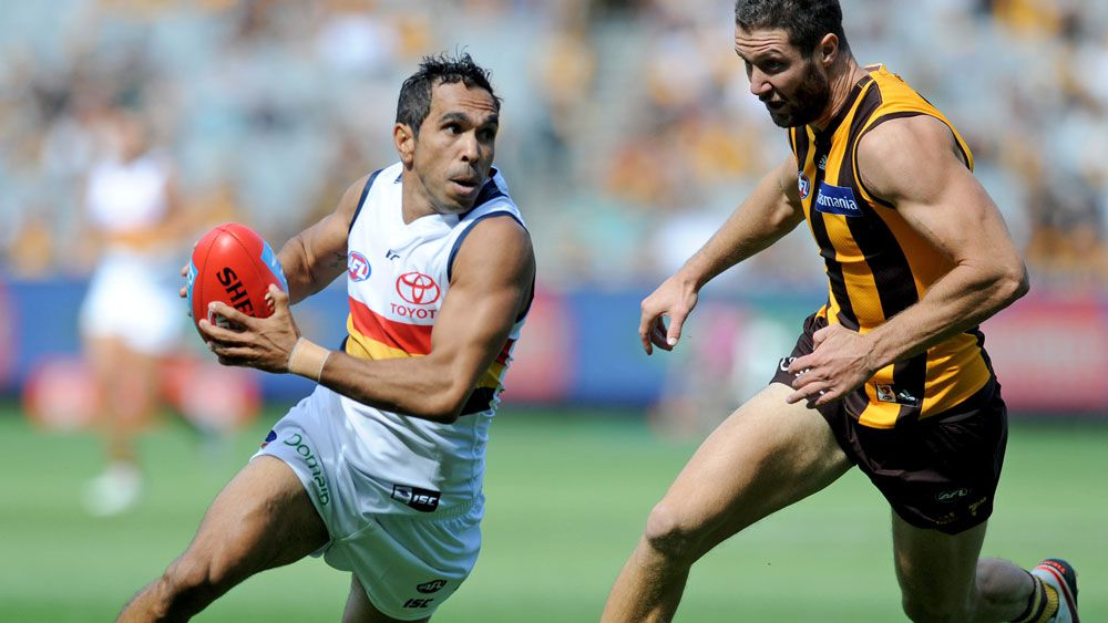 Adelaide Crows throw hat into premiership ring with win over Hawthorn Hawks