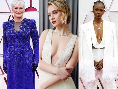 Oscars Red Carpet Arrivals 2021