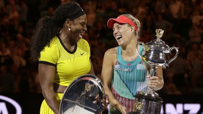 German Angelique Kerber upset Serena Williams to pick up her first ever major title at the Australian Open – before pulling off another win at the US Open eight months later. (AAP)