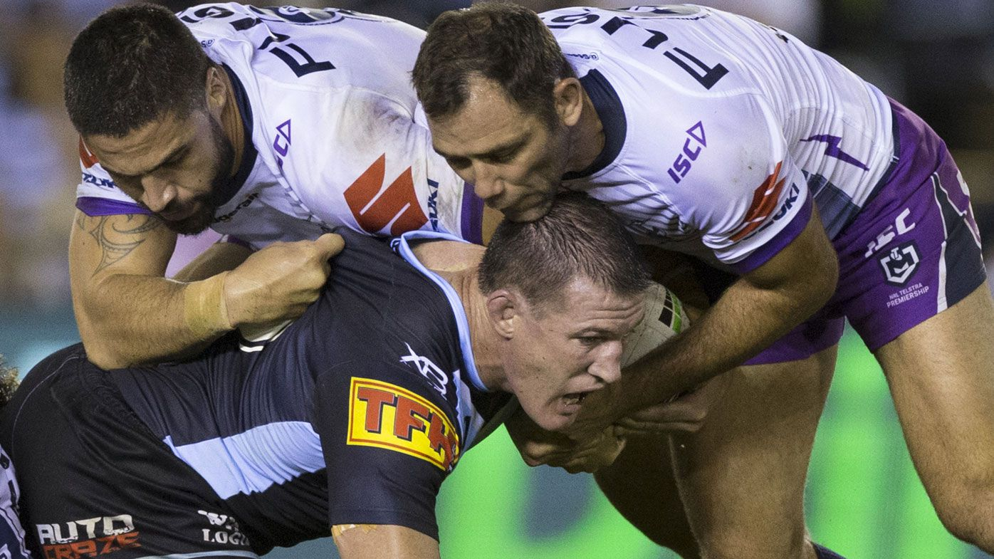 Paul Gallen EXCLUSIVE: how Melbourne Storm keep getting away with wrestling moves
