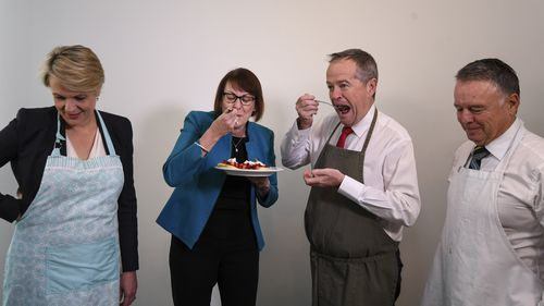 """Opposition Leader Bill Shorten said """"The most important thing this parliament can do is to show the complete confidence in the quality and safety of the food that Australian farmers and growers produce."""""""