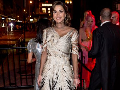 Queen Rania at the Met Gala after-party, 2016