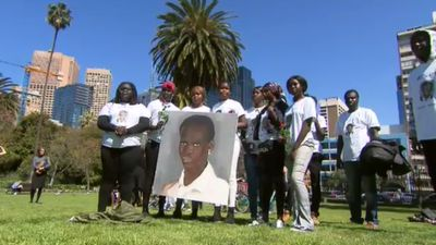 Memorial held for teen killed in racially-motivated attack