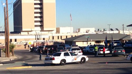 Two injured in reported shooting at US medical centre