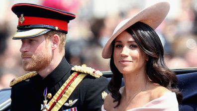 The couple at The Royal Horseguards on June 9, 2018 in London, England.