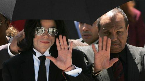 Joe and Michael Jackson