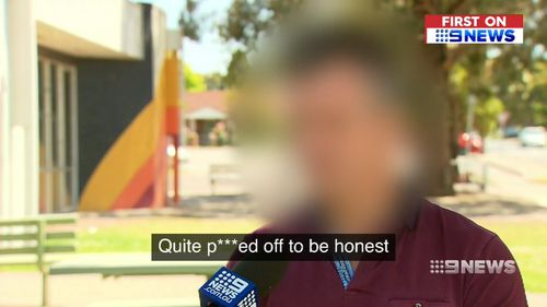 The victim spoke exclusively to 9News about the shocking ordeal.