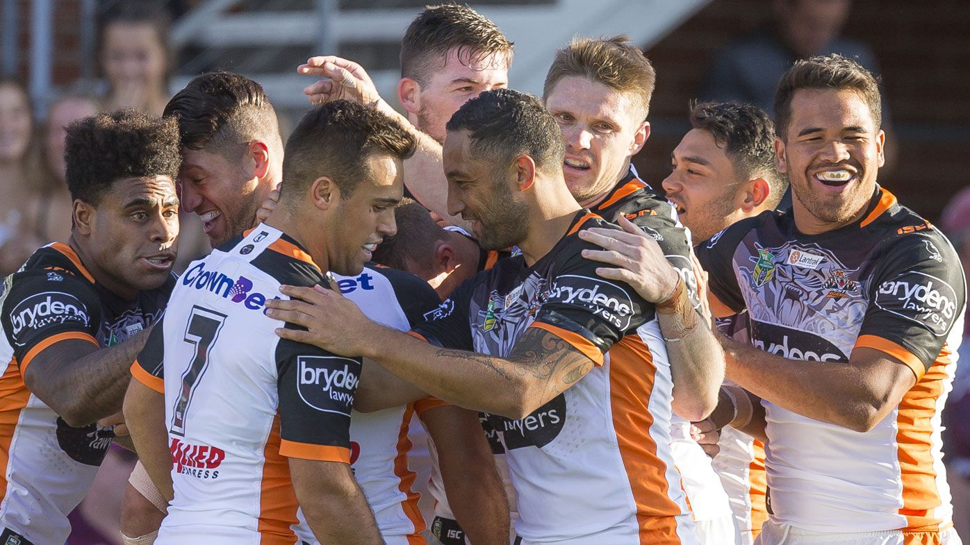 Wests Tigers halves Benji Marshall and Luke Brooks shine again in Fuchs' Performance of the Week