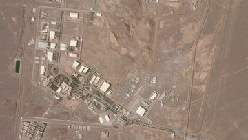 This satellite photo from Planet Labs Inc. shows Iran's Natanz nuclear facility.