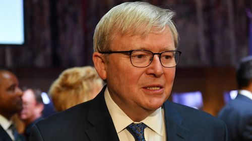 Former Prime Minister Kevin Rudd has been offered an apology by public broadcaster ABC for information published as part of the 'cabinet files' document leak (AAP).