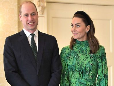 Prince William Kate Middleton Duke and Duchess of Cambridge visit Ireland day one