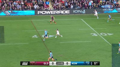 NRL: Valentine Holmes' speed let him down at NFL showcase
