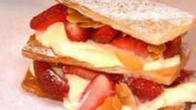 <strong>Strawberry Mille-Feuille</strong>