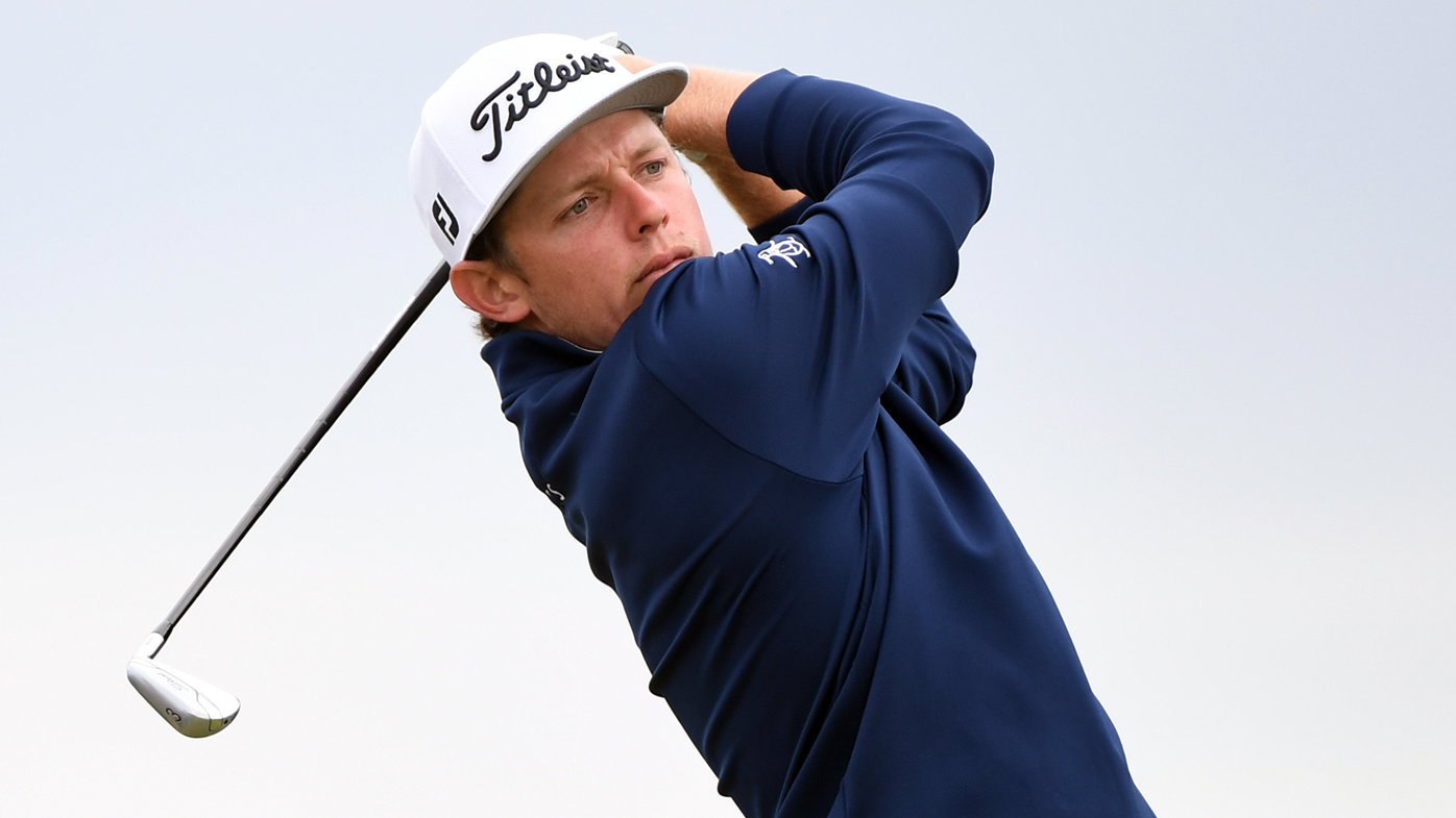 Cameron Smith charges into British Open contention with second round 66