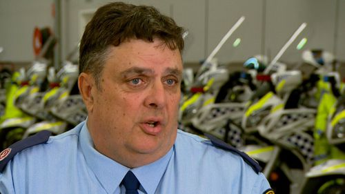 Assistant Commissioner Mick Corboy is the head of the NSW Police Highway Patrol.