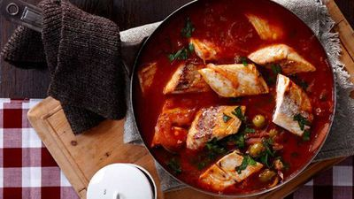 "Recipe: <a href=""http://kitchen.nine.com.au/2016/05/16/16/24/spicy-fish-hot-pot"" target=""_top"">Spicy fish hot pot</a>"