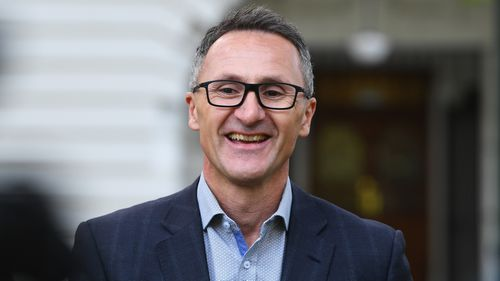 Richard Di Natale has resigned as Greens leader.