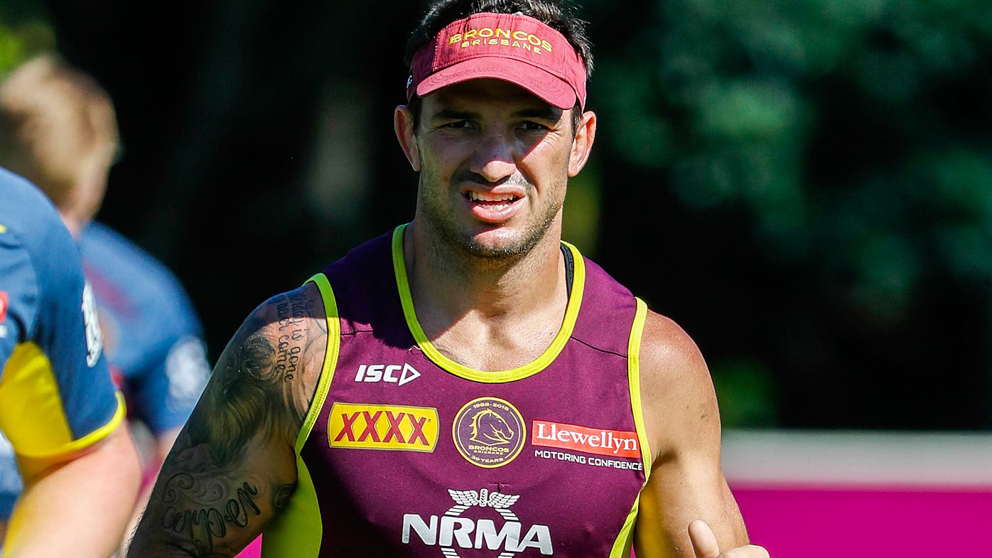 Brisbane Broncos' Matt Gillett suffering from neck fracture