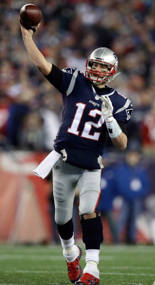 Tom Brady has taken his team to seven Super Bowls since 2002. (AAP)