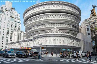 Solomon R Guggenheim Museum re-imagined in a Gothic design