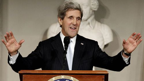 US Secretary of State John Kerry. (AAP)