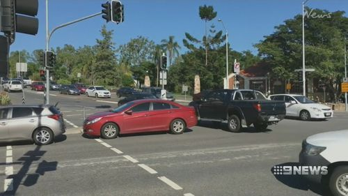 Fines have lifted for drivers who queue across intersections.
