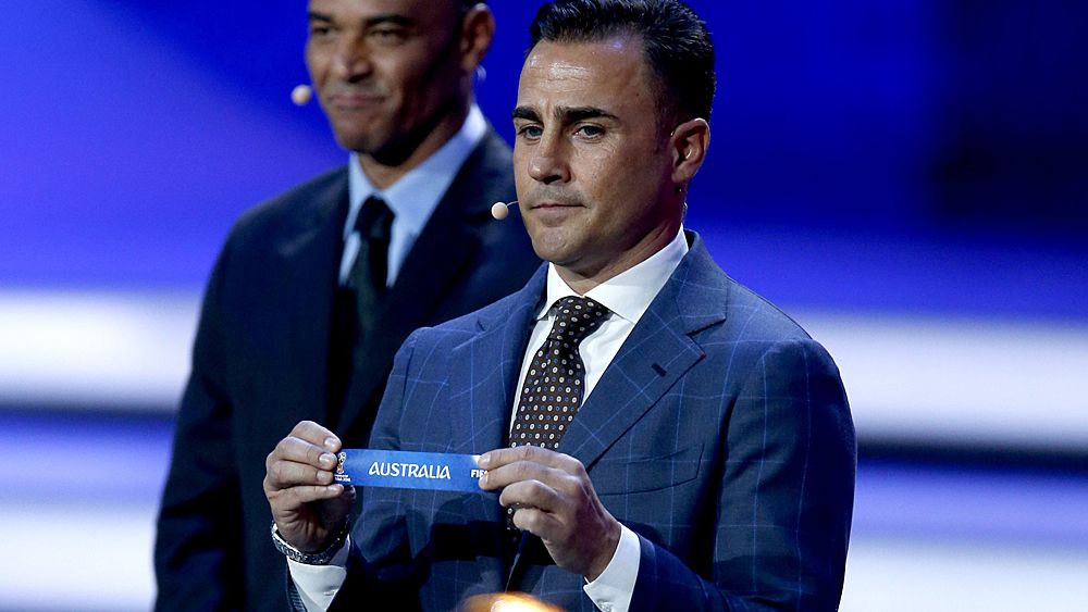 World Cup 2018: Socceroos draw France, Denmark and Peru in Russia