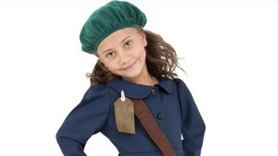 Halloween websites selling Anne Frank children's costume
