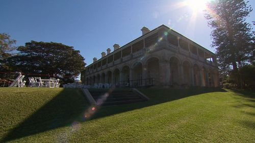 It is a place on the harbour often mistaken for Kirribilli House. (9NEWS)